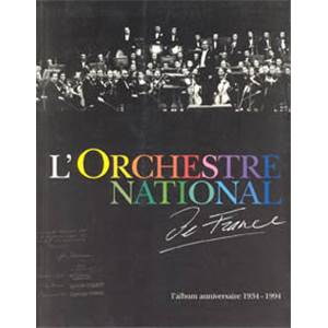 CANTAGREL GILLES - ORCHESTRE NATIONAL DE FRANCE - LIVRE