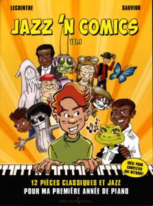LECOINTRE / SAUVION - JAZZ'N COMICS VOL.1 - PIANO