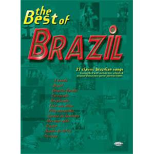 COMPILATION - BEST OF BRASIL LIGNE MELODIQUE ET ACCORDS GUITARE