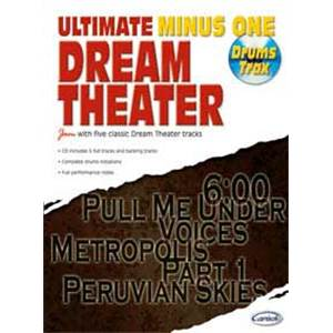 DREAM THEATER - ULTIMATE MINUS ONE DRUMS TRAX VOL.1 + CD