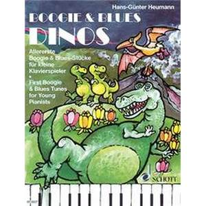 HEUMANN HANS GUNTER - BOOGIE AND BLUES DINOS PIANO