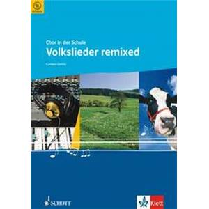 GERLITZ CARSTEN - VOLKSLIEDER REMIXED CHANT(SAB)/PIANO + CD