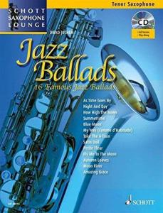 COMPILATION - JAZZ BALLADS FOR TENOR SAXOPHONE (SIB)  + ONLINE AUDIO FILE