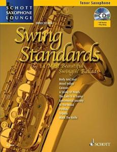 COMPILATION - SWING STANDARDS FOR TENOR SAXOPHONE (SIB) +CD