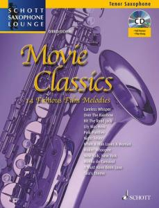 COMPILATION - MOVIE CLASSICS FOR TENOR SAXOPHONE (SIB) +CD