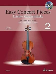 EASY CONCERT PIECES VOL.2 +CD - VIOLON ET PIANO