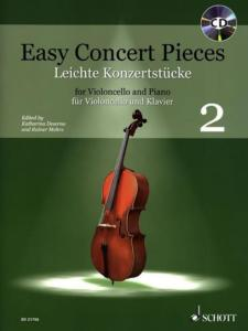 EASY CONCERT PIECES VOL.2 +CD - VIOLONCELLE ET PIANO