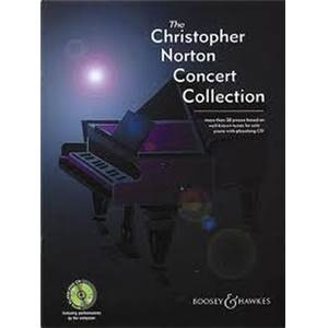 NORTON CHRISTOPHER - CONCERT COLLECTION VOL.1 PIANO + CD