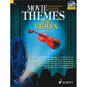 COMPILATION - MOVIE THEMES FOR VIOLIN + CD VIOLON