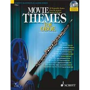 COMPILATION - MOVIE THEMES FOR OBOE + CD HAUTBOIS