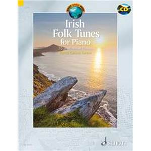 IRISH FOLK TUNES + CD (32 TRADITIONNELS IRLANDAIS) - PIANO