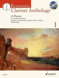 ROMANTIC CLARINET ANTHOLOGY VOL.1 +CD - CLARINETTE ET PIANO