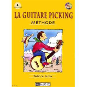 JANIA PATRICE - LA GUITARE PICKING METHODE + CD