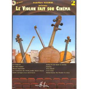 ALLERME JEAN MARC - LE VIOLON FAIT SON CINEMA VOL.2 + CD