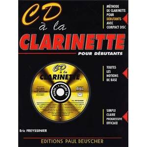 FREYSSINIER ERIC - METHODE CD A LA CLARINETTE SIB + CD