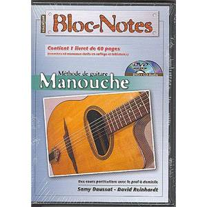DAUSSAT SAMY/ REINHARDT DAVID - DVD BLOC NOTES GUITARE MANOUCHE
