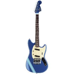 GUITARE FENDER MUSTANG COMPETITION JAPAN ROSEWOOD LAKE PLACID BLUE