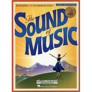 RODGERS / HAMMERSTEIN - THE SOUND OF MUSIC VOCAL SELECTION P/V/G