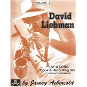 LIEBMAN DAVID - AEBERSOLD 019 + CD