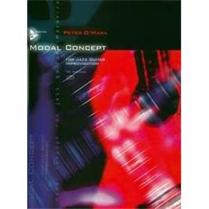 O'MARA PETER - MODAL CONCEPT FOR JAZZ GUITAR IMPROVISATION + CD