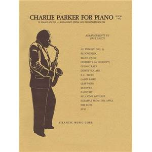 PARKER CHARLIE - FOR PIANO SOLO VOL.2
