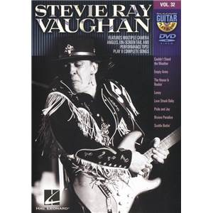 VAUGHAN STEVIE RAY - GUITAR PLAY ALONG DVD VOL.32