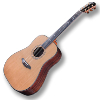 GUITARE FOLK ACOUSTIQUE FURCH D23-CR