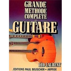 LAURENT LEO - GRANDE METHODE COMPLETE DE GUITARE