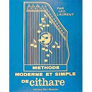LAURENT LEO - METHODE MODERNE DE CITHARE