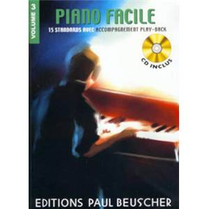 COMPILATION - PIANO FACILE VOL.3 + CD