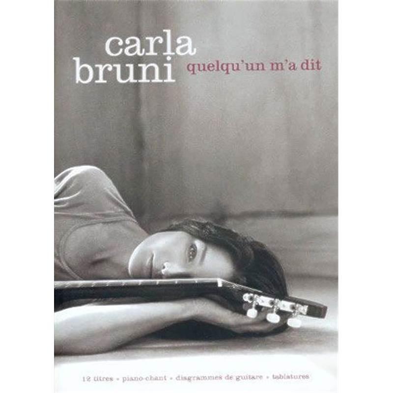 Bruni carla quelqu 39 un m 39 a dit p v g puis for Carla bruni le ciel dans une chambre