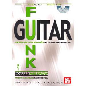 MULDROW RONALD - FUNK GUITAR METHODE + CD
