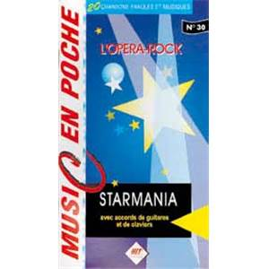 BERGER M. / PLAMONDON L. - STARMANIA MUSIC EN POCHE N.30
