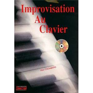 COLOMBATTO ALAIN - IMPROVISATION AU CLAVIER + CD