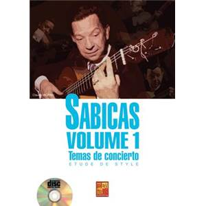 WORMS CLAUDE - SABICAS ETUDES DE STYLES VOL.1 + CD