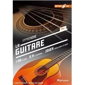 COLLECTIF - DVD METHODE DE GUITARE 1 AN DE COURS VOL.1