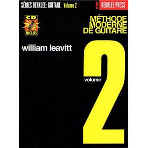 LEAVITT WILLIAM - METHODE GUITARE BERKLEE VOL.2 + CD