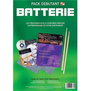 PACK DEBUTANT BATTERIE