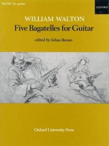 WALTON WILLIAM - BAGATELLES (5) - GUITARE