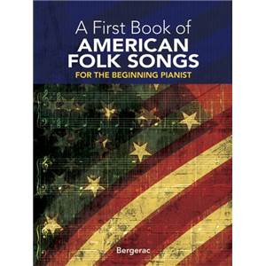 COMPILATION - A FIRST VOL.OF AMERICAN FOLK SONGS PIANO