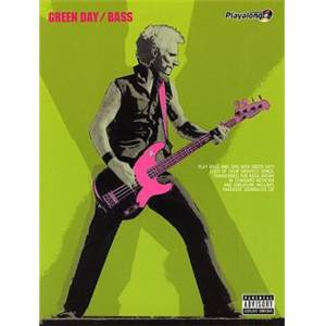 GREEN DAY - AUTHENTIC BASS PLAY ALONG + CD