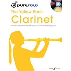 COMPILATION - PURE SOLO YELLOW VOL.CLARINET + CD