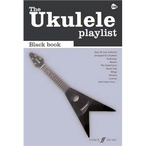 COMPILATION - UKULELE PLAYLIST THE BLACK VOL.CHORD SONGBOOK SPECIAL ROCK
