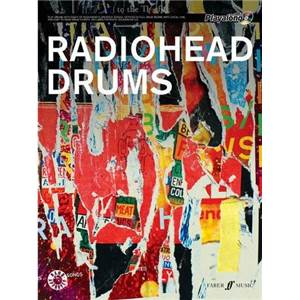 RADIOHEAD - AUTHENTIC DRUMS PLAY ALONG + CD