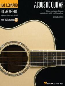 CHAD JOHNSON - HAL LEONARD GUITAR METHOD ACOUSTIC GUITAR + ONLINE AUDIO ACCESS