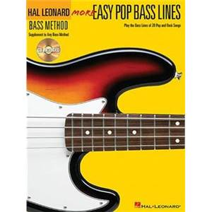 COMPILATION - MORE EASY POP BASS LINES + CD