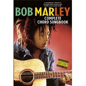MARLEY BOB - COMPLETE CHORD SONGBOOK