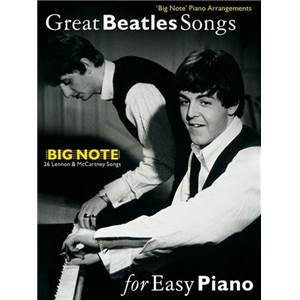BEATLES THE - GREAT SONGS FOR EASY PIANO