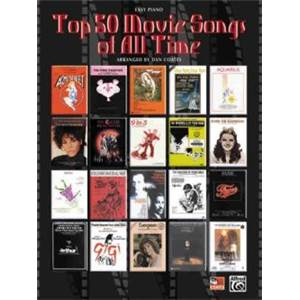 COMPILATION - TOP 50 MOVIE SONGS OF ALL TIME EASY PIANO