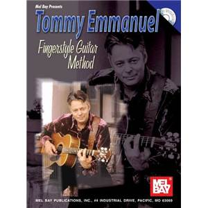 EMMANUEL TOMMY - FINGERSTYLE GUITAR METHOD TAB. + CD